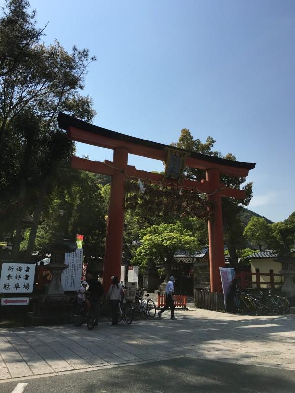 松尾大社を訪問する。