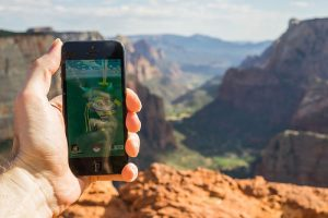 photo credit: Pokemon Gym at the peak of Zion Observation Point via photopin (license)