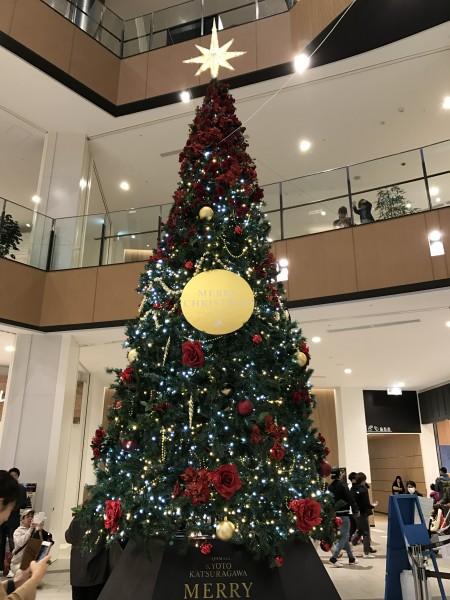 クリスマスイブにイオン桂川に行く。