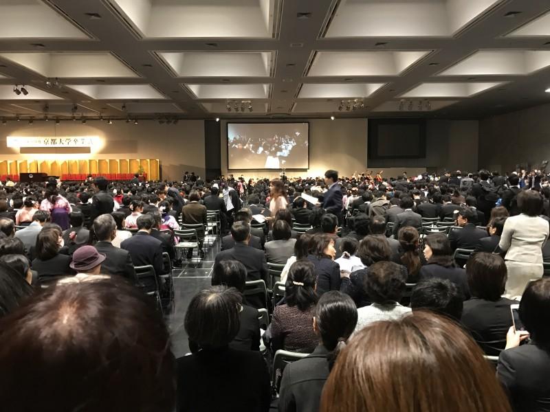 京都大学の卒業式