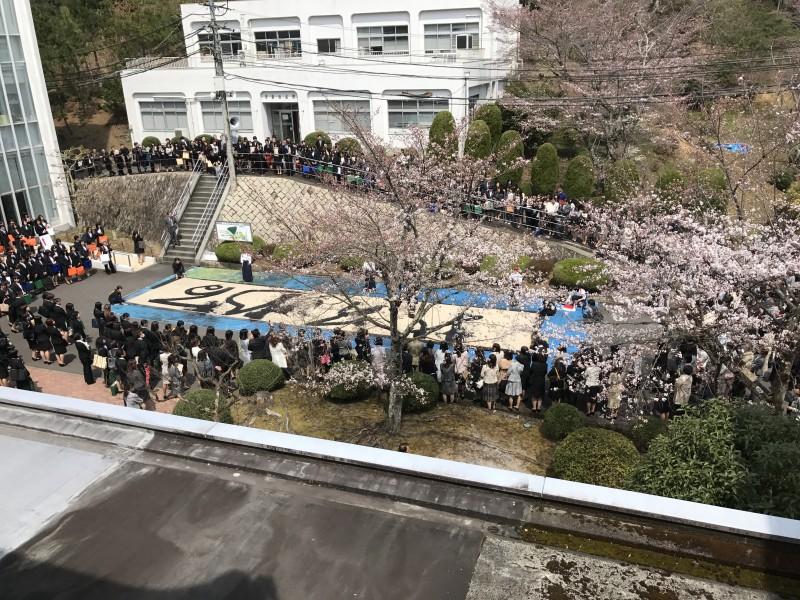 入学式があった。