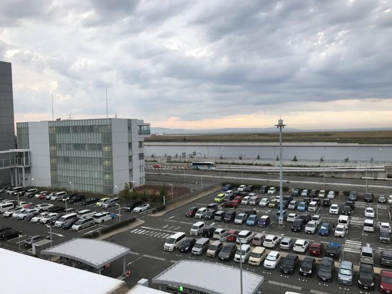 関空から石川県に戻る。