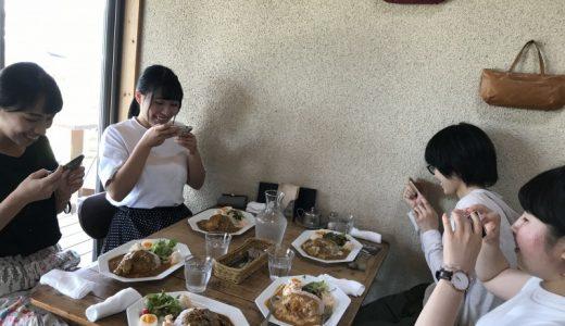 ゼミ生との昼飯会
