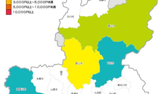 岐阜県ではまだ停電が続いている。