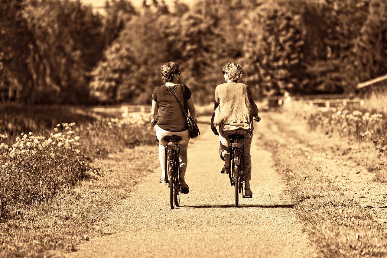 自転車にはもう乗れない。