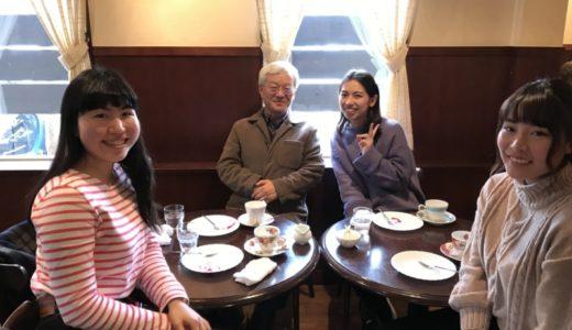 ゼミ生と近隣の喫茶店で会食をした。