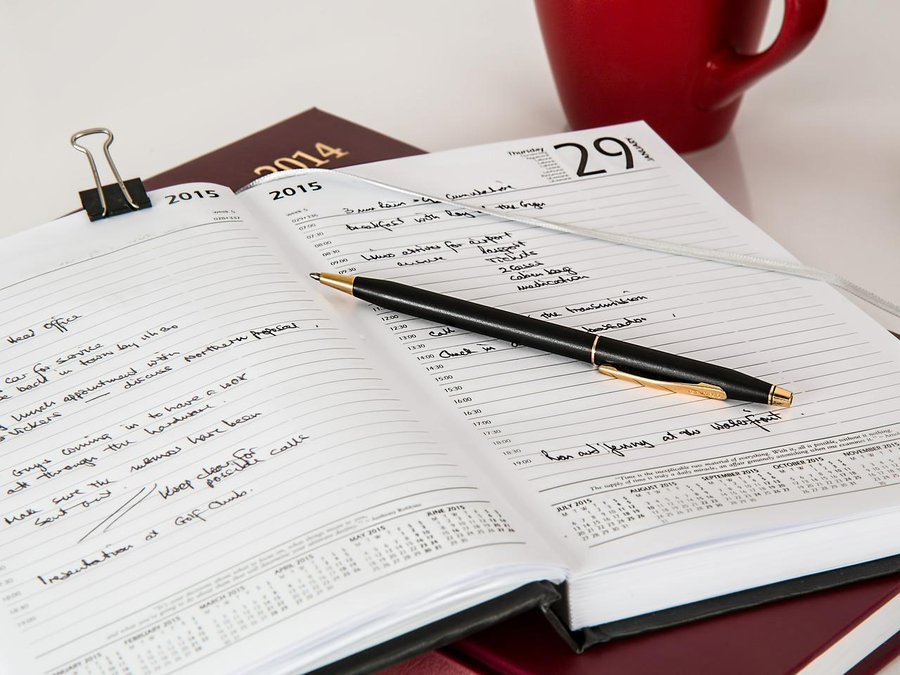 3年連続日記帳を買ってみたい。